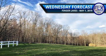 finger lakes weather forecast wednesday may 1 2019 warmer windy rain thunderstorms