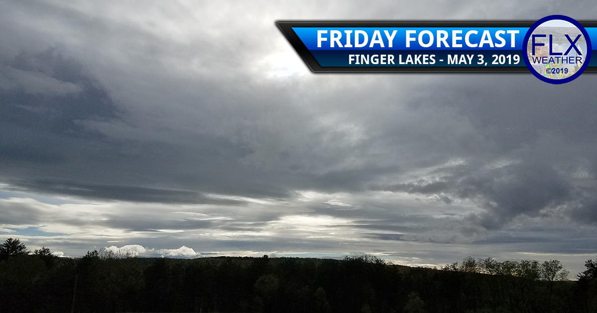 finger lakes weather forecast friday may 3 2019 rain thunderstorms warm front cold front weekend weather