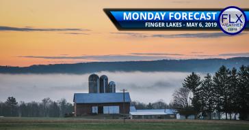 finger lakes weather forecast monday may 6 2019 morning fog sunshine warm