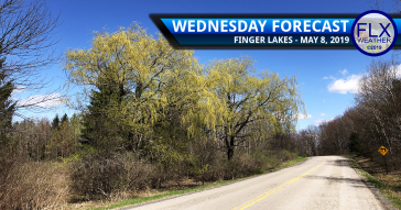 finger lakes weather forecast wednesday may 8 2019 sunny cool warmer thursday