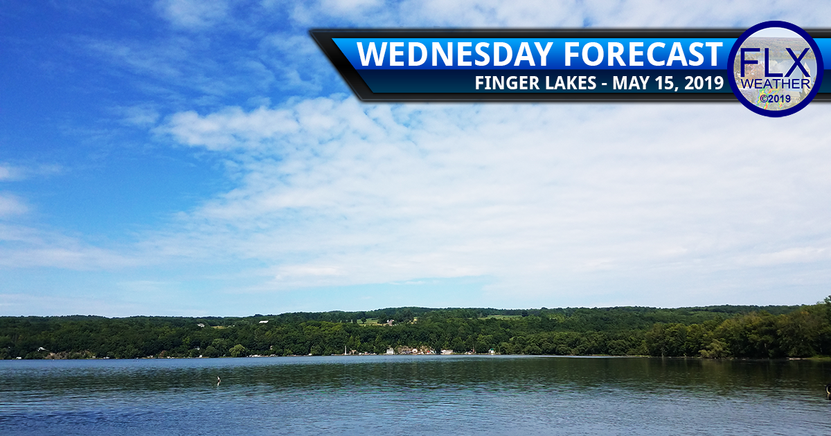 finger lakes weather forecast wednesday may 15 2019 sun clouds rain thunder
