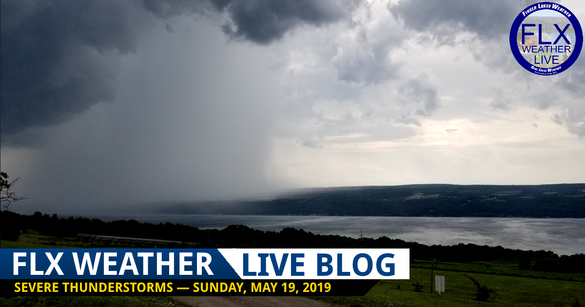 finger lakes weather forecast live blog severe thunderstorms sunday may 19 2019