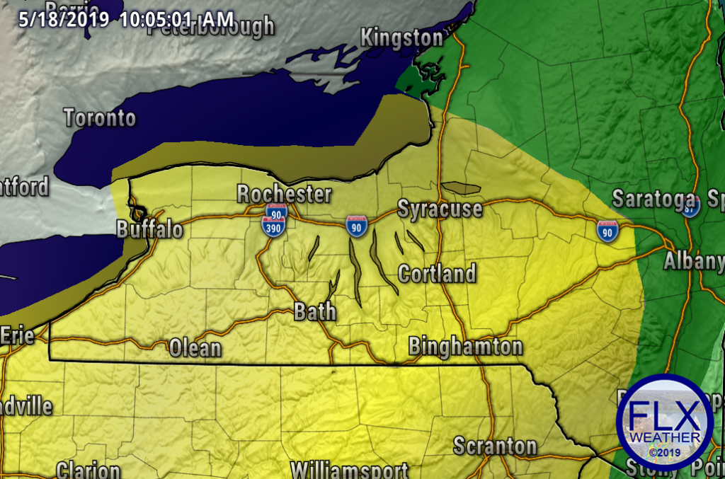 finger lakes weather forecast severe thunderstorm outlook storm prediction center sunday may 19 2019