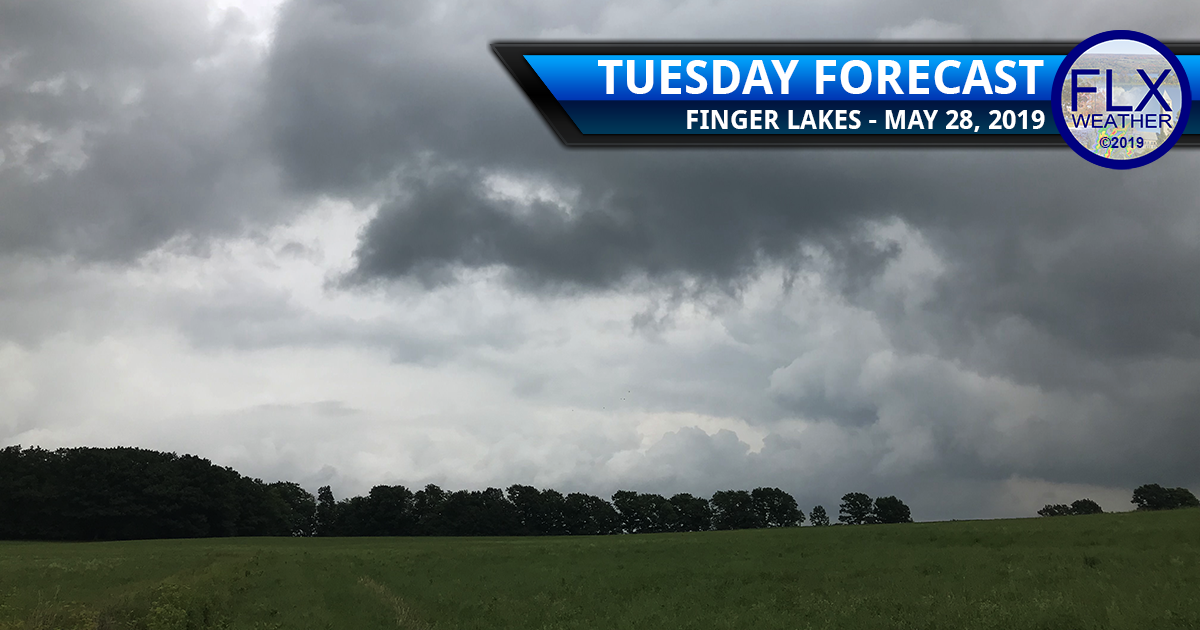 finger lakes weather forecast tuesday may 28 2019 rain showers thunderstorms