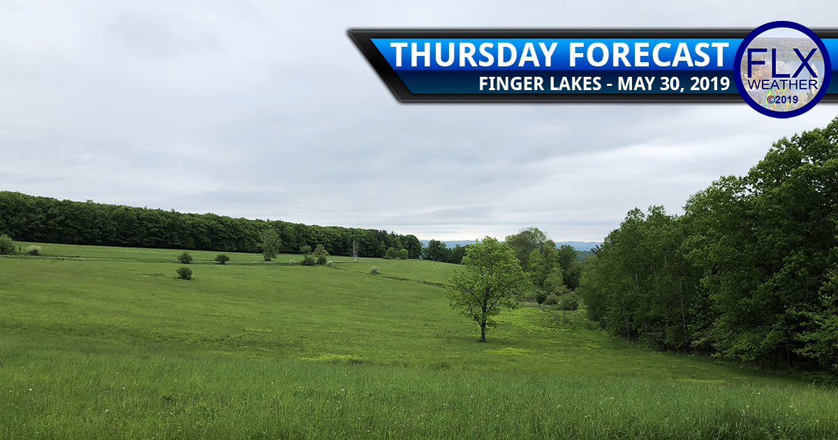 finger lakes weather forecast thursday may 30 2019 rain showers thunderstorms weekend weather
