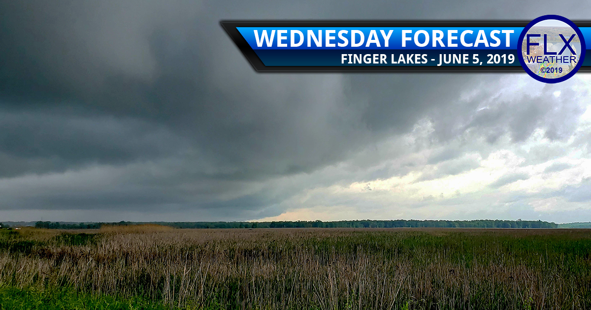 finger lakes weather forecast wednesday june 5 2019 rain thunderstorms