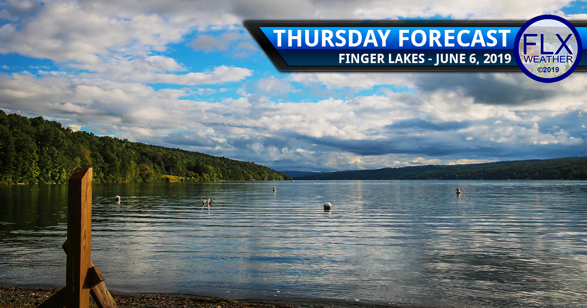 finger lakes weather forecast thursday june 6 2019 sunny dry comfortable near normal