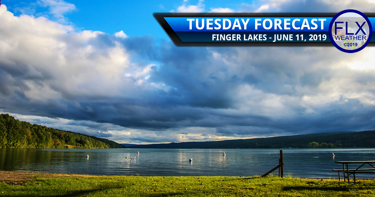 finger lakes weather forecast tuesday june 11 2019 morning clouds sunny dry windy breezy cool
