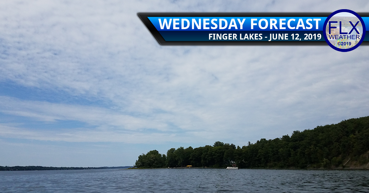 finger lakes weather forecast wednesday june 12 2019 sun clouds thursday rain cool fathers day weekend weather