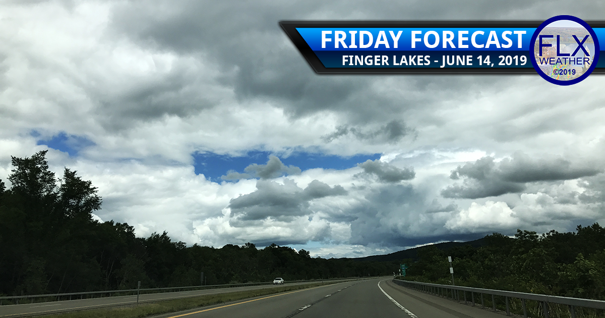 finger lakes weather forecast friday june 14 2019 clouds showers sunshine fathers day weekend weather