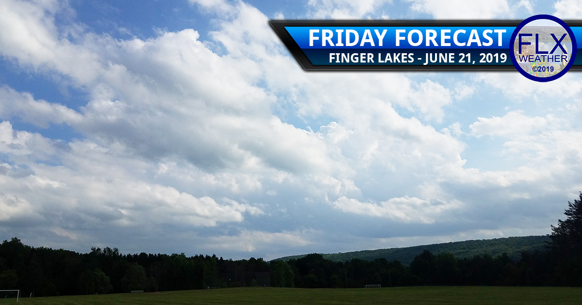 finger lakes weather forecast friday june 21 2019 sun clouds showers breezy quiet nice weekend