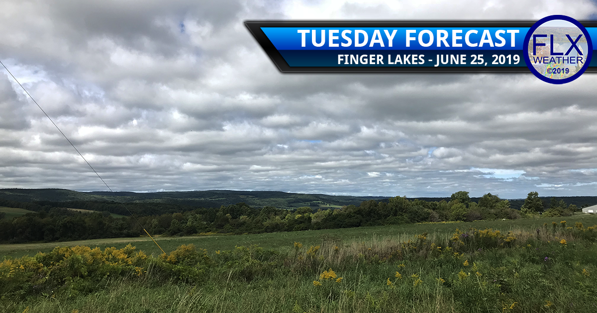 finger lakes weather forecast tuesday june 25 2019 rain thunderstorms warm humid weather