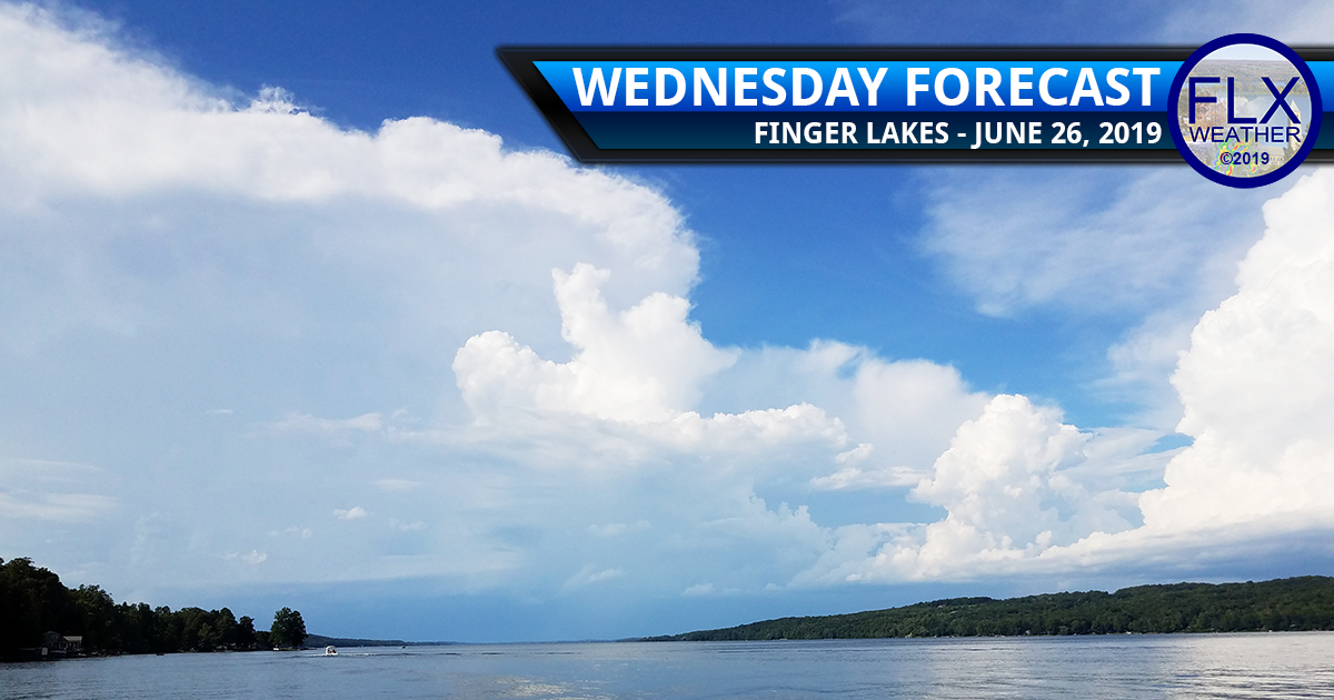 finger lakes weather forecast wednesday june 26 2019 scattered afternoon thunderstorms