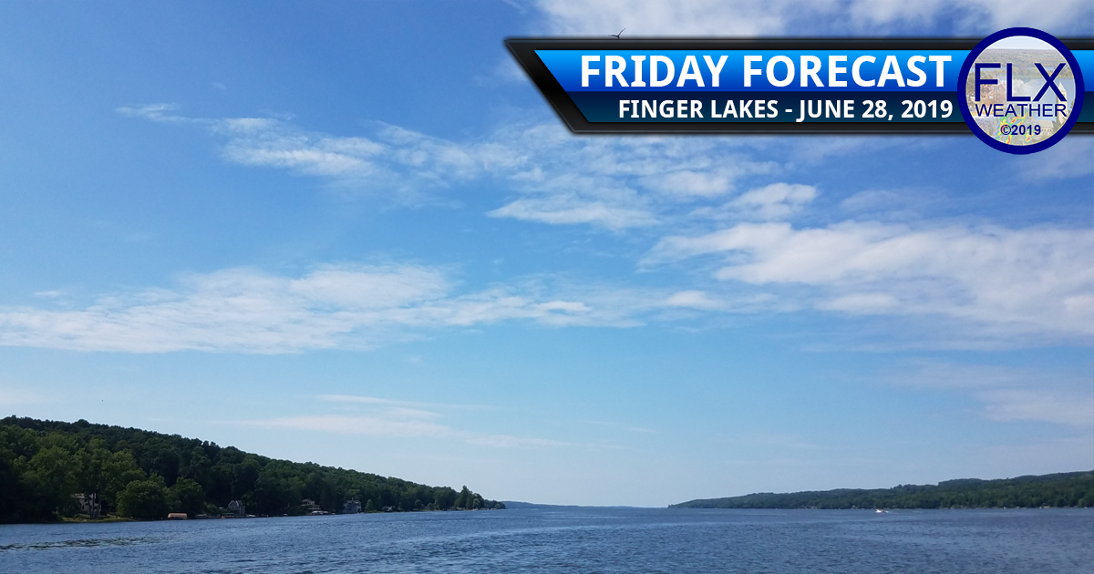 finger lakes weather forecast friday june 28 2019 sunny dry warm hot weekend weather rain showers thunderstorms july 4th weather