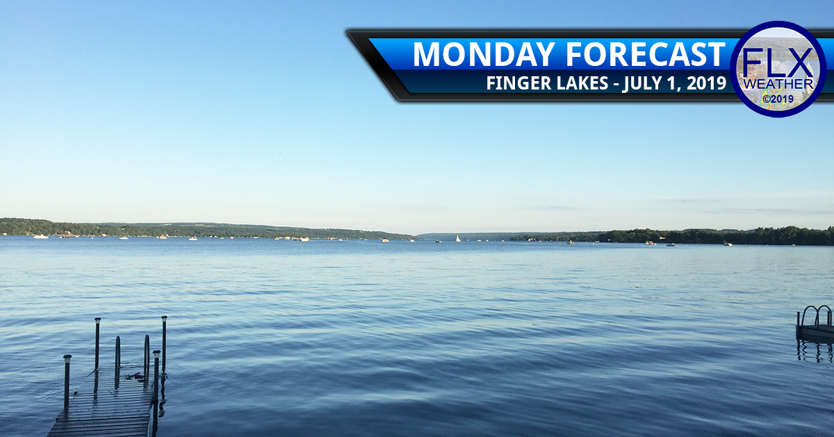 finger lakes weather forecast monday july 1 2019 sunny rain thunderstorms july 4th weather 4th of july weather