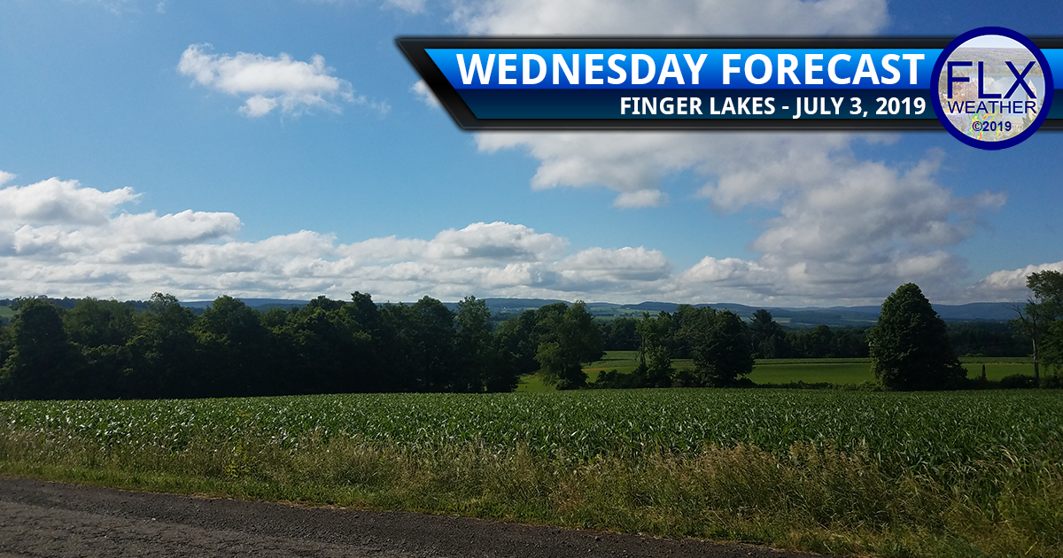 finger lakes weather forecast wednesday july 3 2019 sun clouds warm hot humid july 4th forecast