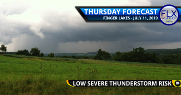 finger lakes weather forecast thursday july 11 2019 severe thunderstorms damaging winds