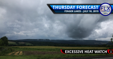 finger lakes weather forecast thursday july 18 2019 excessive heat watch heat index weekend heat