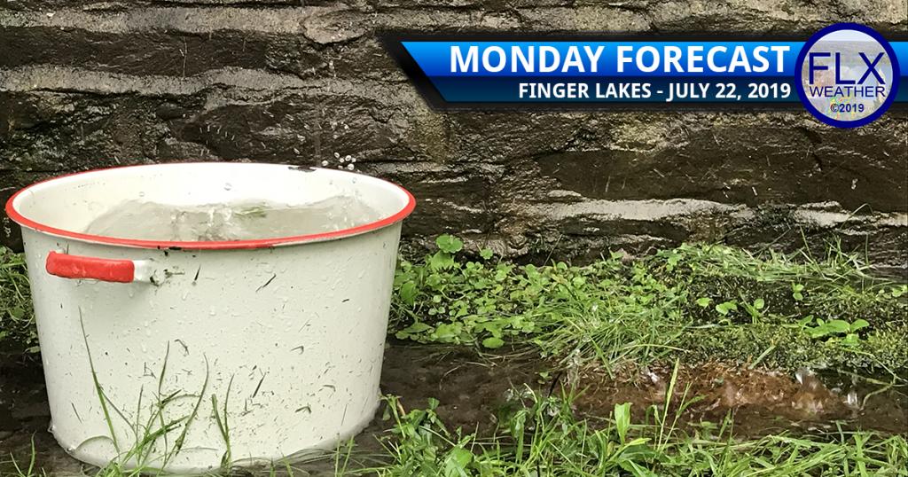 finger lakes weather forecast monday july 22 2019 rain thunder cooler temperatures weekly forecast