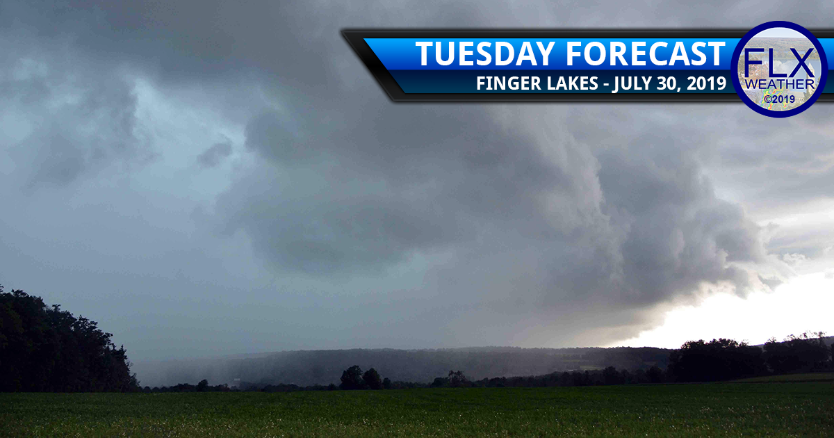 finger lakes weather forecast tuesday july 30 2019 thunderstorms strong to severe storms damaging winds lightning heavy rain