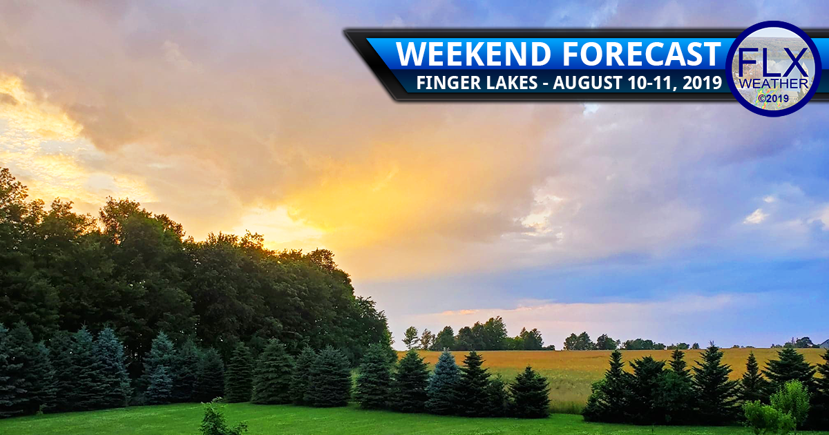 finger lakes weekend weather forecast saturday august 10 2019 showers temperatures