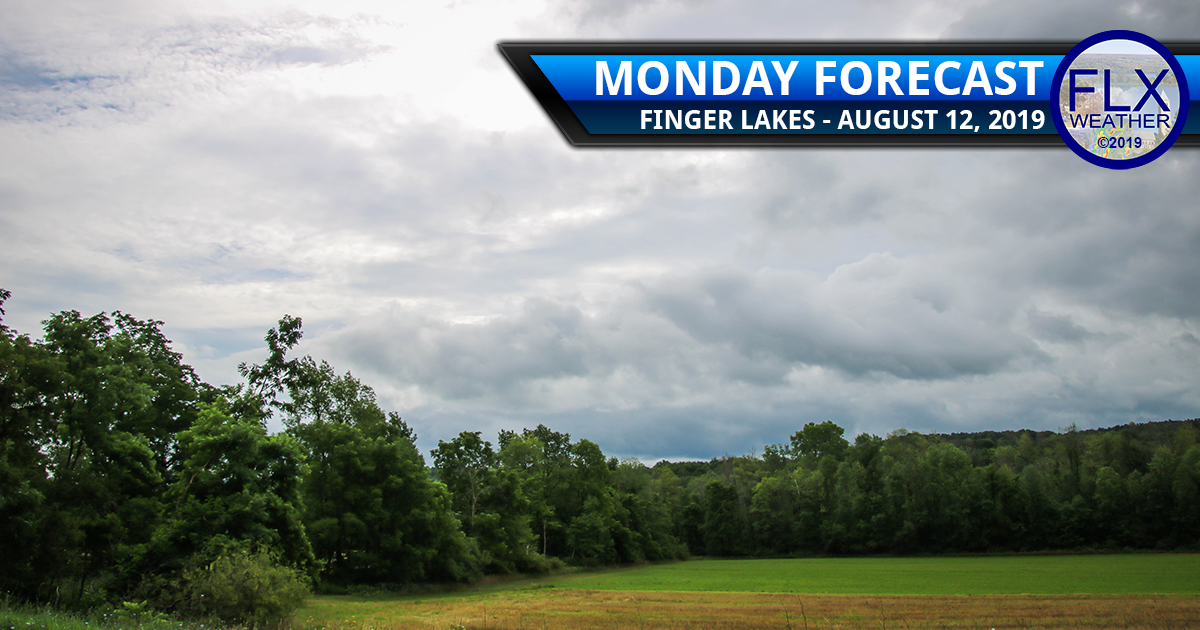 finger lakes weather forecast monday august 12 2019 clouds sun temperatures rain rainy tuesday