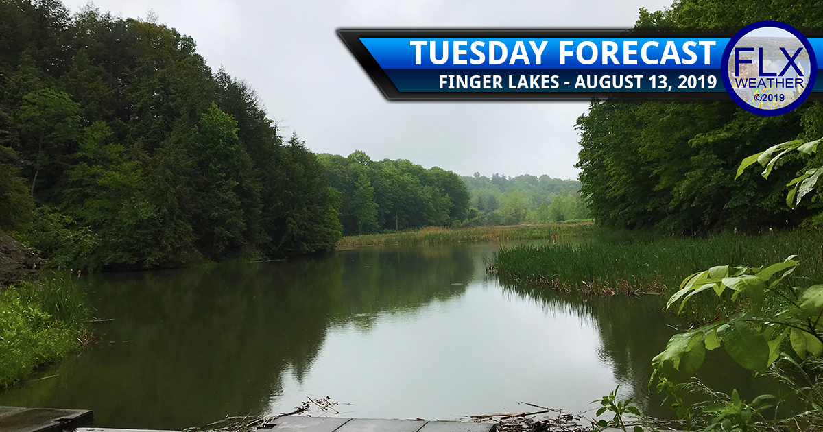 finger lakes weather forecast tuesday august 13 2019 rain clouds temperatures