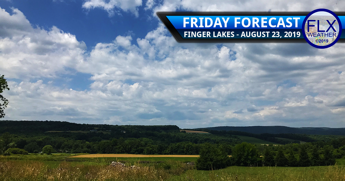 finger lakes weather forecast friday august 23 2019 sunny high pressure cool temperatures weekend forecast