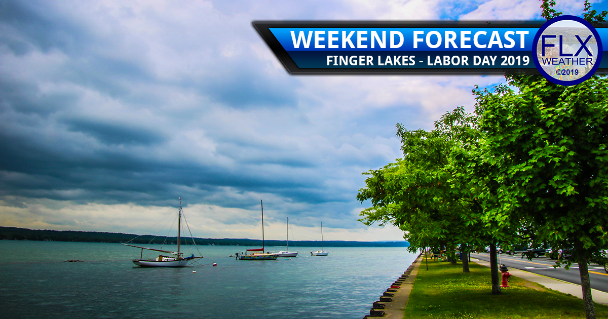 finger lakes weather forecast saturday august 31 2019 labor day weekend rain thunderstorms