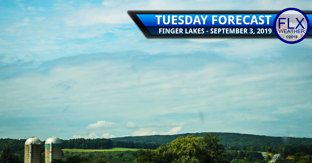 finger lakes weather forecast tuesday september 3 2019 clouds sun showers cool temperatures