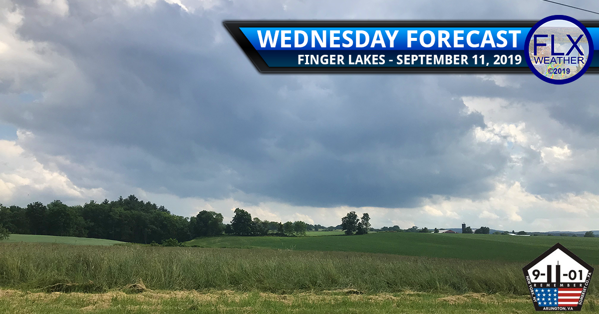 finger lakes weather forecast wednesday september 11 2019 clouds sun showers front windy weekend