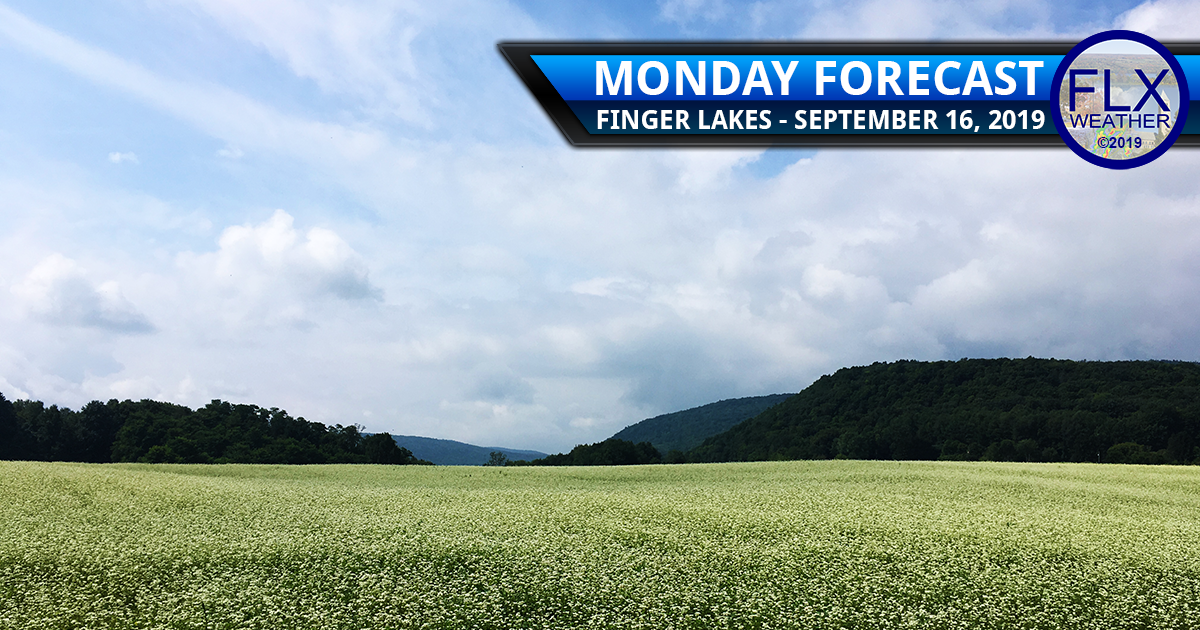 finger lakes weather forecast monday september 16 2019 showers clouds sunny mild