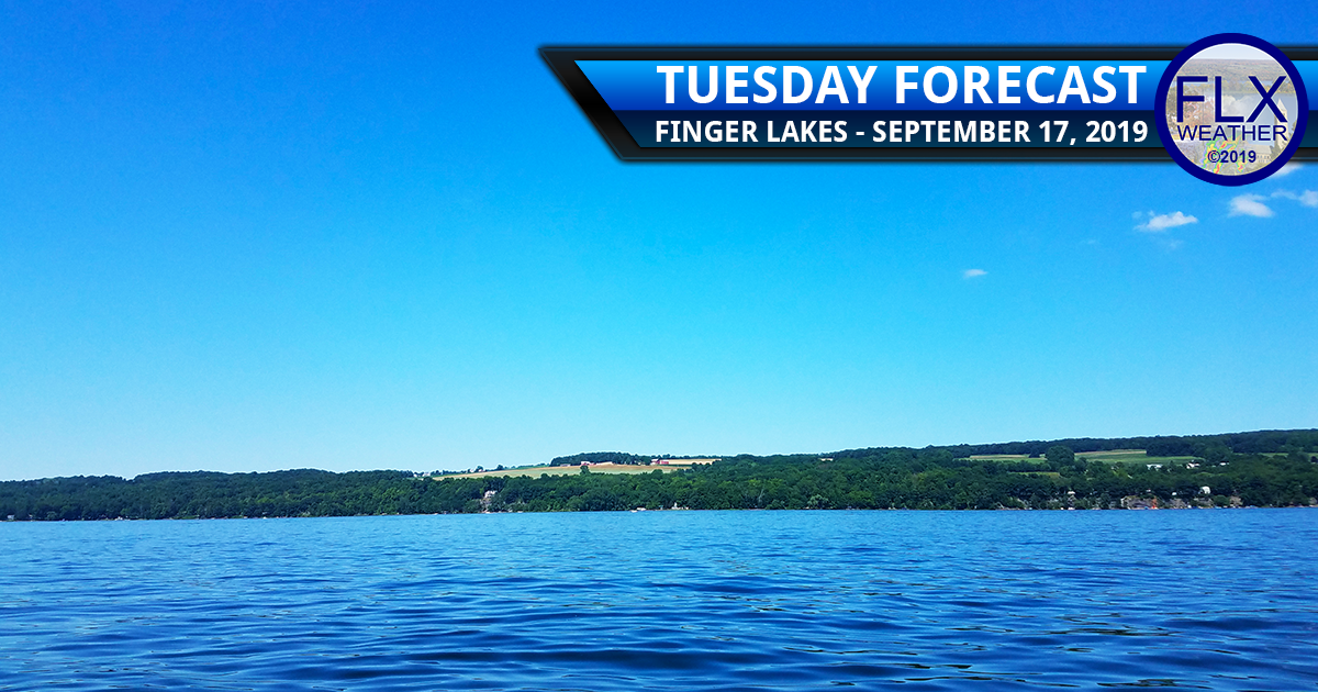 finger lakes weather forecast tuesday september 17 2019 sunny dry
