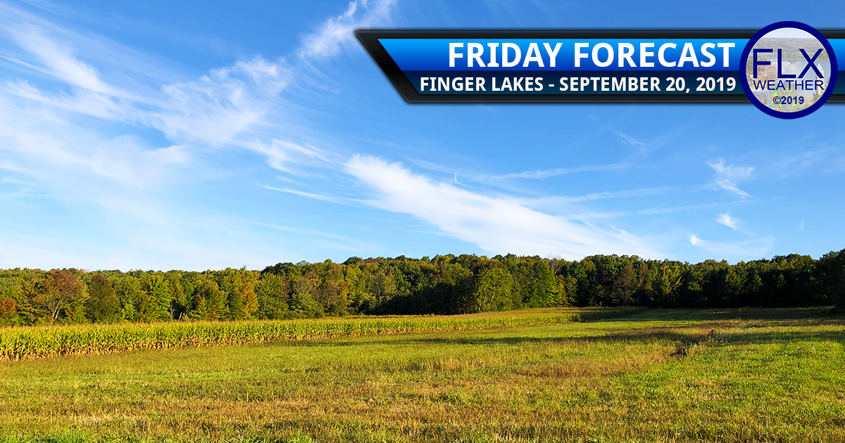 finger lakes weather forecast friday september 20 2019 sunny dry warm hot weekend