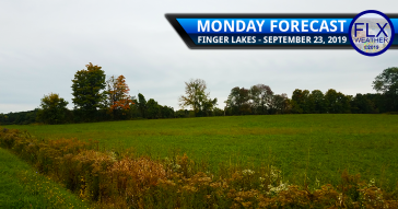 finger lakes weather forecast monday september 23 2019 cold front rain thunderstorms lake effect showers