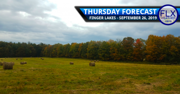 finger lakes weather forecast thursday september 26 2019 rain clouds cold front weekend weather forecast