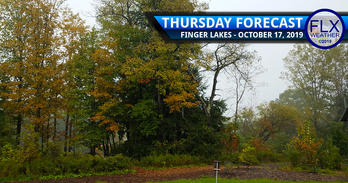finger lakes weather forecast thursday october 17 2019 cloudy rain windy wind gusts weekend forecast
