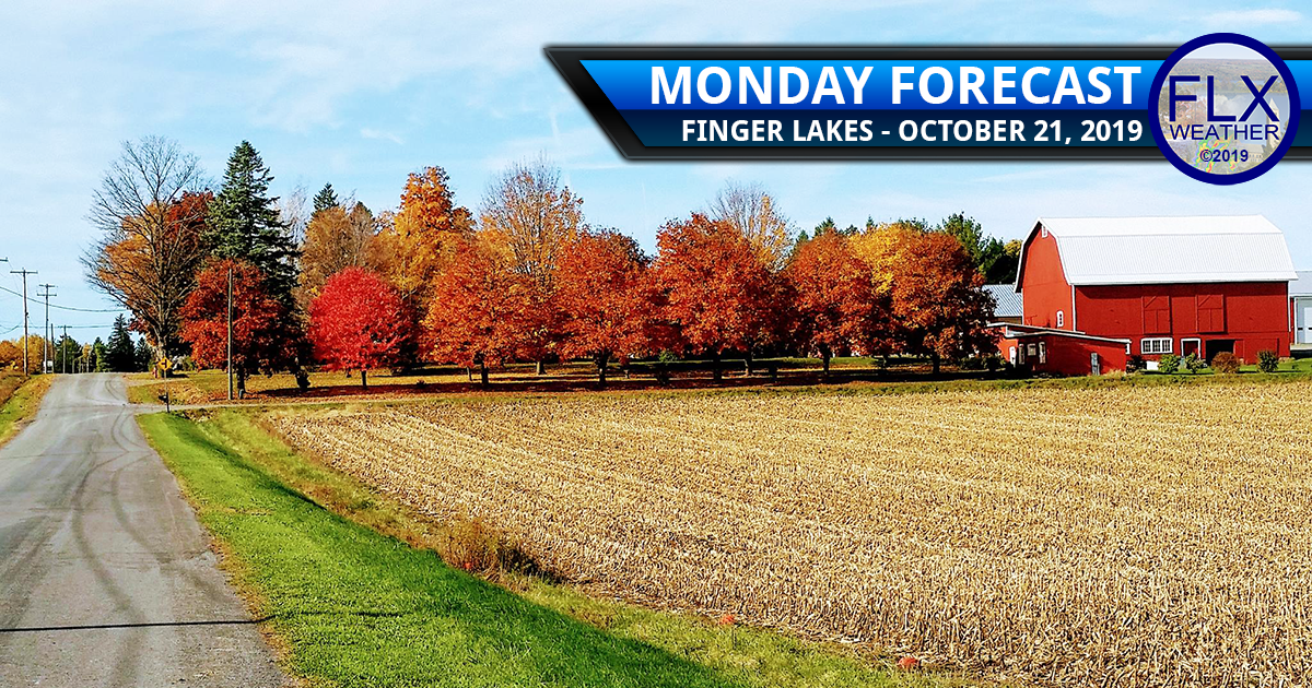 finger lakes weather forecast monday october 21 2019 warm sunny wind rain tuesday