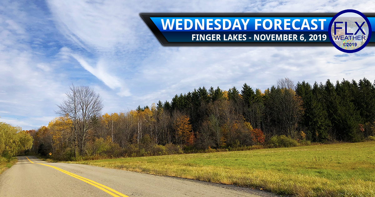 finger lakes weather forecast wednesday november 6 2019 sunshine cold front snow accumulation