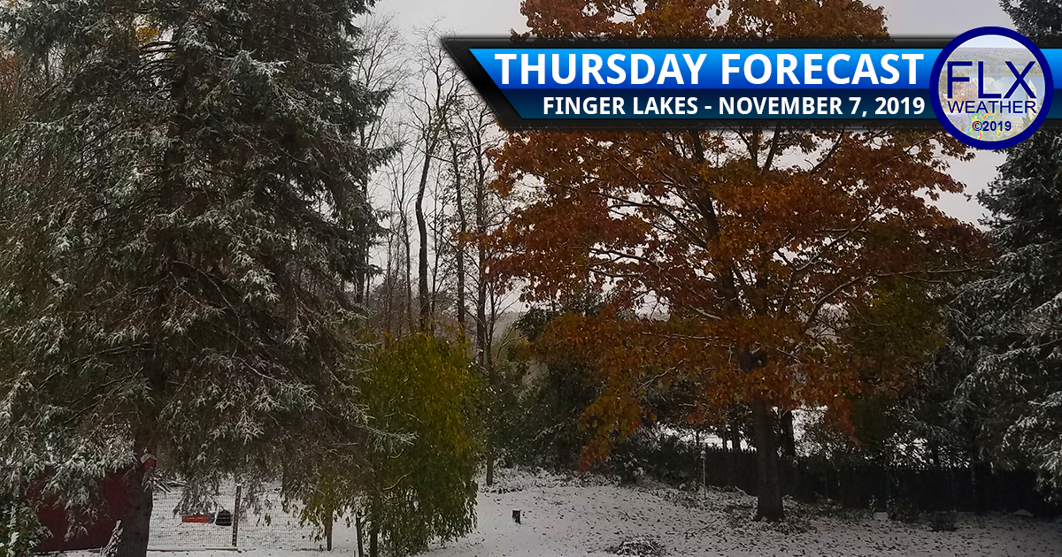 finger lakes weather forecast thursday november 7 2019 cold front snow accumulation
