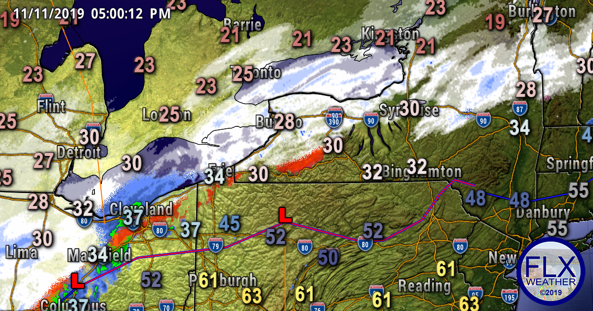 finger lakes weather forecast update monday evening winter storm update