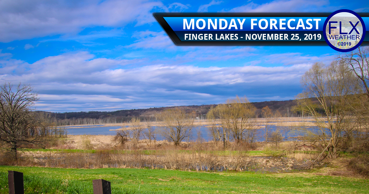 finger lakes weather forecast monday november 25 2019 thanksgiving week sun and clouds wednesday rain