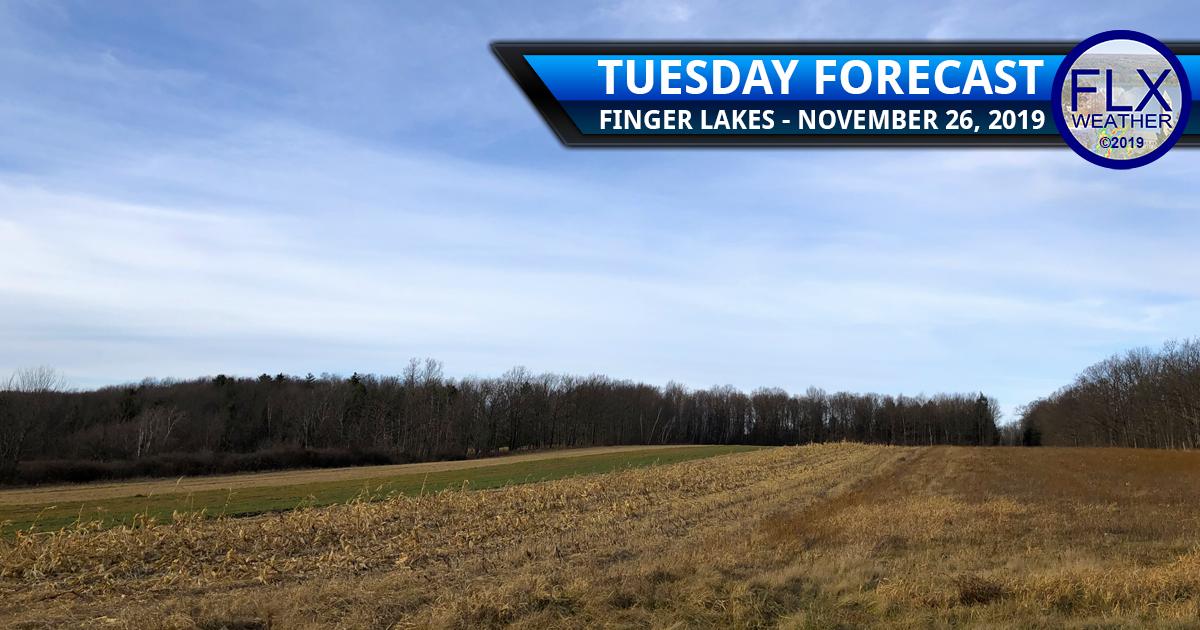 finger lakes weather forecast tuesday november 26 2019 sunny mild wind rain thanksgiving