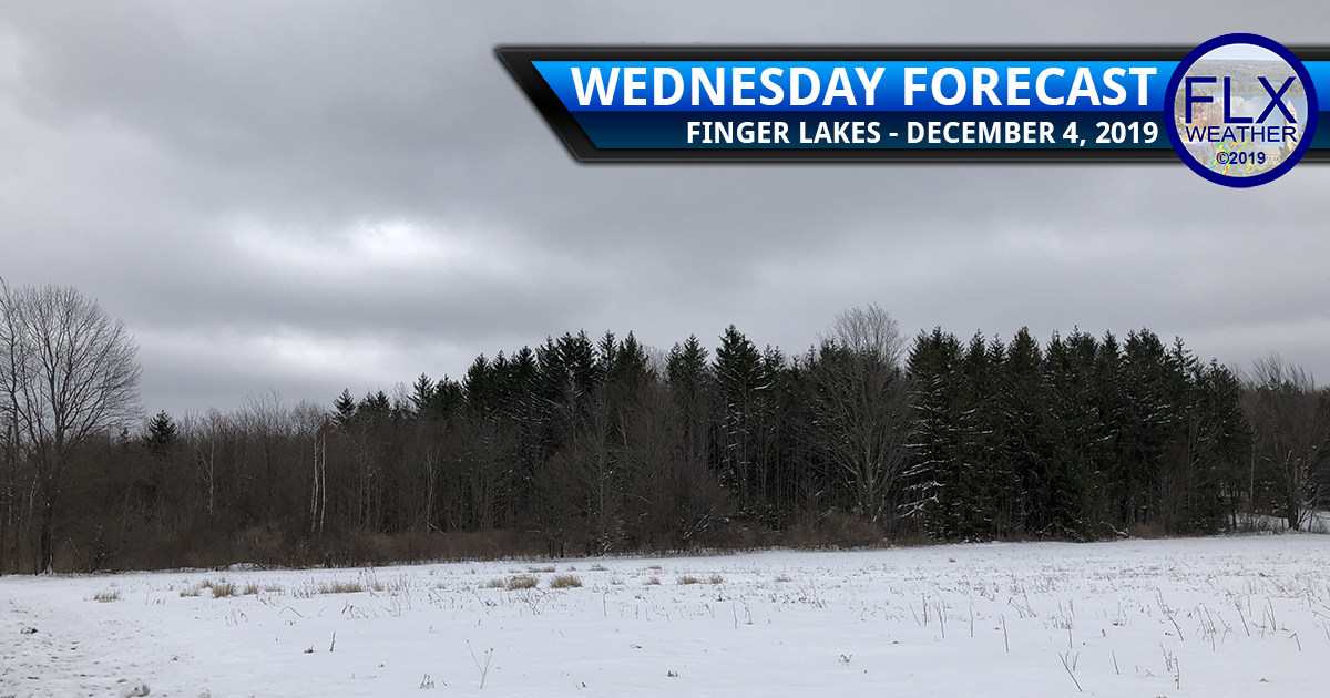 finger lakes weather forecast wednesday december 4 2019 snow showers cold front lake effect