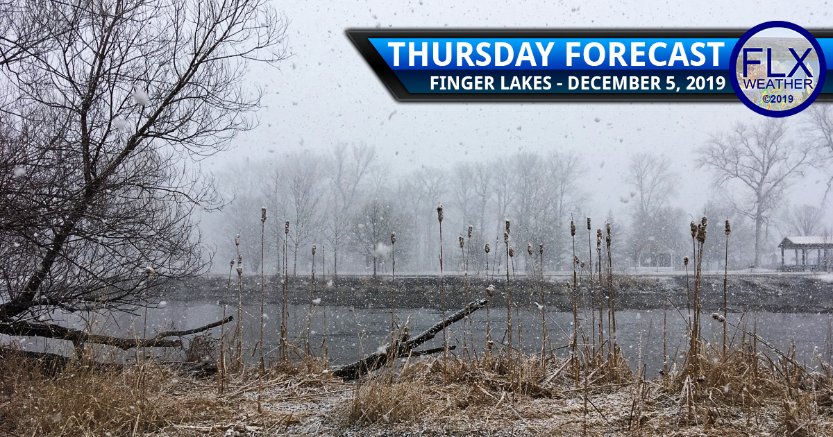 finger lakes weather forecast thursday december 5 2019 lake effect snow clipper system